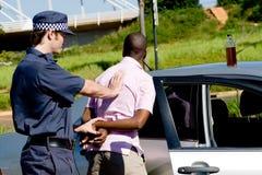 拘捕 免版税库存图片