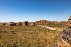 拙劣的工作搞糟范围,金伯利,澳大利亚西部 免版税图库摄影