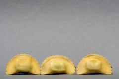 招呼意大利意大利面食 免版税库存照片
