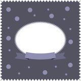 招呼或祝贺的卡片灰色背景 免版税库存图片
