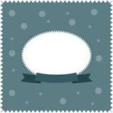 招呼或祝贺的卡片灰色背景 免版税图库摄影
