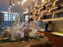 招待会9月15日, Mercure旅馆Selayang雪兰莪鸡尾酒 图库摄影