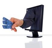 招待监控程序 免版税库存图片