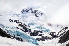 拜伦冰川,阿拉斯加 免版税库存图片