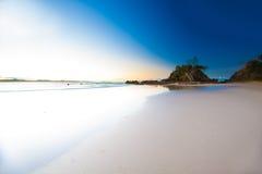 拜伦海湾景色 免版税库存照片