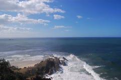 拜伦海湾风景监视 库存图片