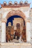 拜占庭式的修道院米斯特拉斯 免版税库存图片