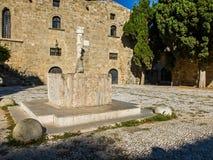 拜占庭式的喷泉 免版税库存照片