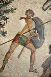 拜占庭式的战士 免版税库存照片