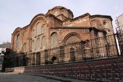 拜占庭式的教会伊斯坦布尔pentepoptes 免版税库存图片