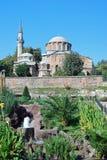 拜占庭式的教会- Chora教会-伊斯坦布尔 免版税库存照片