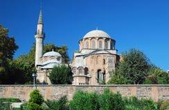 拜占庭式的教会- Chora教会-伊斯坦布尔 免版税库存图片