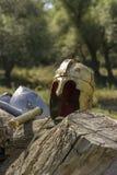 拜占庭式的盔甲 免版税库存图片