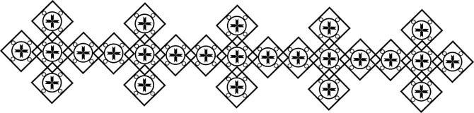 拜占庭式的装饰品 免版税库存图片