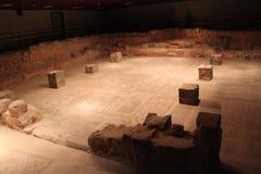 拜特阿尔法古老犹太教堂废墟 免版税库存图片