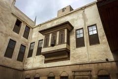 拜特Suhaymi,典型的议院在开罗伊斯兰老城 库存图片