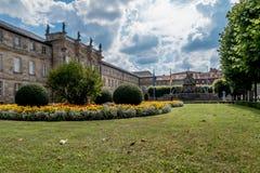 拜罗伊特新的宫殿 免版税图库摄影