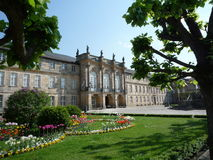 拜罗伊特新的宫殿 库存图片