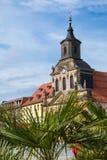 拜罗伊特老镇- Spitalkirche 库存图片