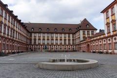 拜罗伊特,德国老宫殿, 2015年 库存照片