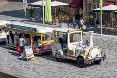 拜罗伊特-城市火车历史老镇  免版税图库摄影