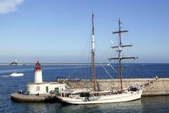 拜雷阿尔斯港口ibiza海岛西班牙 图库摄影