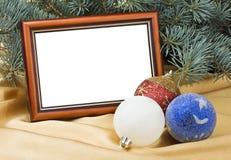 拟订圣诞节玩具 免版税库存照片