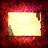 拟订圣诞节红色 库存例证