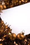 拟订圣诞节 免版税库存照片