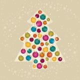 拟订圣诞节 免版税库存图片