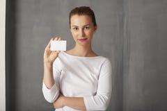 拟订妇女 免版税库存照片