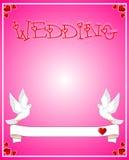 拟订婚礼 库存照片