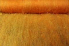 拟订的绵羊羊毛 免版税库存照片