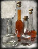 拟订葡萄酒 库存例证