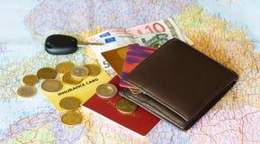 拟订货币 图库摄影