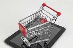 拟订dof重点现有量在线浅购物非常 免版税库存照片
