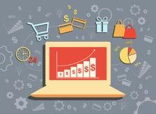 拟订dof重点现有量在线浅购物非常 免版税库存图片