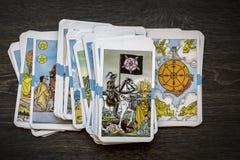拟订tarot 免版税库存照片