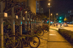 拥挤的街 免版税图库摄影