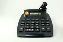 拥有您的股票? 免版税库存照片