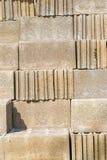 阻拦砖 免版税库存图片