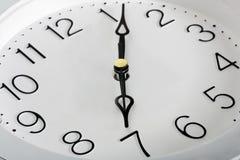 拨号时间手表 免版税库存图片