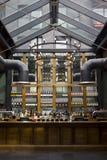 拨号盘曲拱客栈内部在伦敦 免版税图库摄影