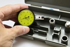 拨号盘测量仪 库存照片