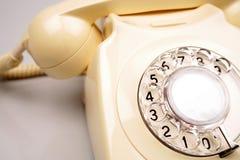 拨号转台式电话 库存图片