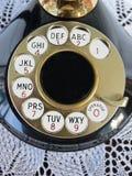 拨号telephon 库存照片