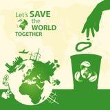 拯救世界 免版税库存照片