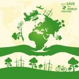 拯救世界 免版税图库摄影