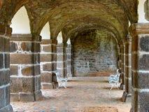 拱廊城堡 免版税图库摄影