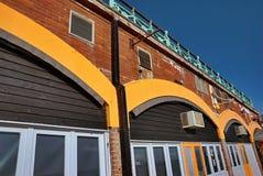 拱廊布赖顿沿海岸区 库存图片